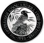 Kleines Bild von Kookaburra 1992 1kg Silber