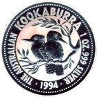 Kleines Bild von Kookaburra 1994 2oz Silber