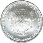 Kleines Bild von American Eagle 1989 1oz Silber
