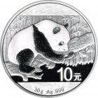 Kleines Bild von Panda 2016 30g Silber