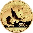 Kleines Bild von Panda 2016 1g Gold