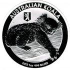 Kleines Bild von Koala 2012 Privy Berliner Bär 1oz Silber