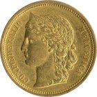 Kleines Bild von Helvetia 20 SFRs. 1893 Gold