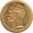 Kleines Bild von 20 Kroner  /  Kronen Gold Frederik VIII