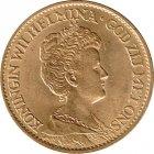 Kleines Bild von 10 Gulden Gold Wilhelmina