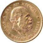 Kleines Bild von 10 Gulden Gold Willem