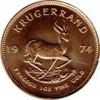 Kleines Bild von Krügerrand 1974 1oz Gold