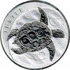 Kleines Bild von Niue Turtle 2oz Silber 2015