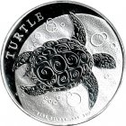 Kleines Bild von Niue Turtle 1oz Silber 2016
