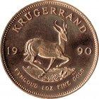 Kleines Bild von Krügerrand 1990 1oz Gold