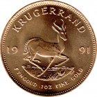 Kleines Bild von Krügerrand 1991 1oz Gold