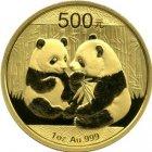 Kleines Bild von Panda 2009 1/20oz Gold