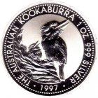 Kleines Bild von Kookaburra 1997 2oz Silber