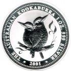 Kleines Bild von Kookaburra 2001 2oz Silber