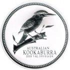 Kleines Bild von Kookaburra 2003 1oz Silber