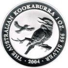 Kleines Bild von Kookaburra 2004 2oz Silber