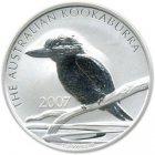 Kleines Bild von Kookaburra 2007 2oz Silber