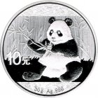 Kleines Bild von Panda 2017 30g Silber