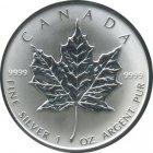 Kleines Bild von Maple Leaf 1oz Silber (aktueller Jahrgang)