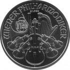 Kleines Bild von Philharmoniker 1oz Silber (akt. Jahrgang)