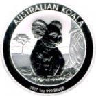 Kleines Bild von Koala 2017 1oz Silber