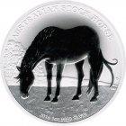 Kleines Bild von Stock Horse 2016 1oz Silber