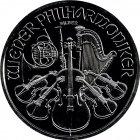 Kleines Bild von Philharmoniker 2016 black edition 1oz Silber
