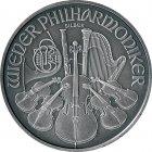 Kleines Bild von Philharmoniker 2016 antik finish 1oz Silber
