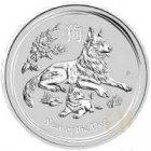 Kleines Bild von Lunar II Hund 2018 1kg Silber