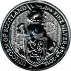 Kleines Bild von Queens Beast Unicorn of Scotland 2018 2oz Silber