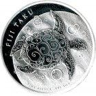 Kleines Bild von Fiji Taku 1oz Silber 2012