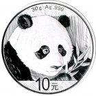 Kleines Bild von Panda 2018 30g Silber
