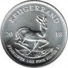 Kleines Bild von Krügerrand 1oz Silber (diverse Jahrgänge)