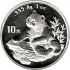 Kleines Bild von Panda 1998 1oz Silber