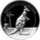 Kleines Bild von Kangaroo 2012 High Relief PP 1oz Silber