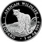 Kleines Bild von Somalia Leopard 1oz Silber 2018