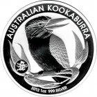 Kleines Bild von Kookaburra 2012 Privy 1oz Silber