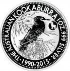 Kleines Bild von Kookaburra 2015 Privy 1oz Silber