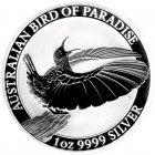 Kleines Bild von Victoria Paradiesvogel 2018 1oz Silber