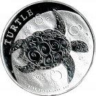 Kleines Bild von Niue Turtle 1oz Silber 2019