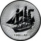 Kleines Bild von 1oz Cook Island Bounty 2020 Silber